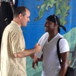 Talking with Sonny Emory at Jazz Fest