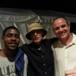 Hangin' with Johnny V & Terrence Houston @ Paulie's N.O. Fest