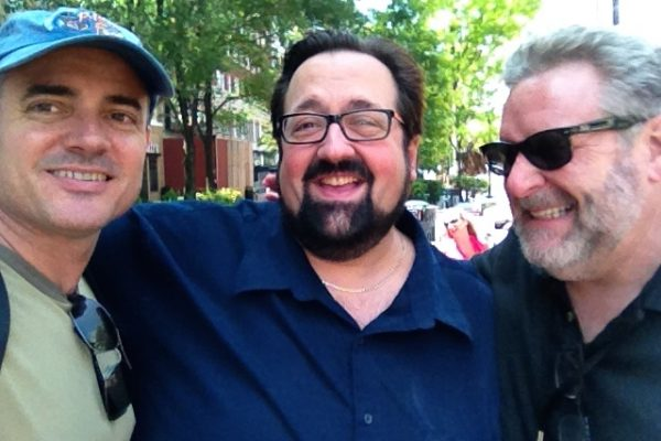 with Joey Defrancesco & Jeff Hamilton @ Tri-C Jazz Fest