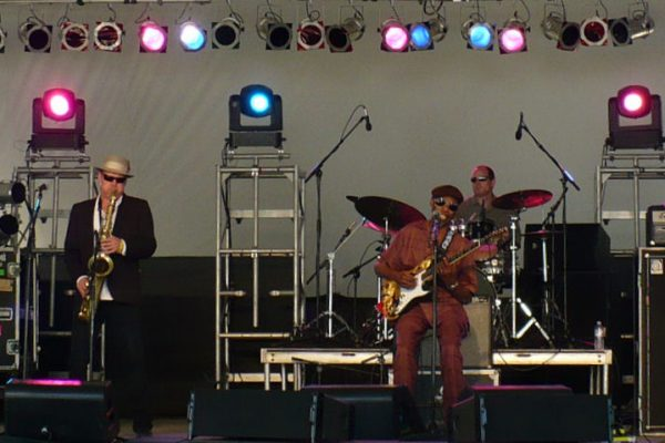 The Roadmasters at Voodoo Fest